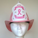 "Original ""Fight Like A Girl"" Breast Cancer Awareness Helmet"