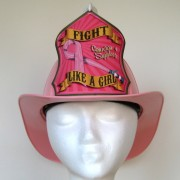 "New ""Fight Like A Girl"" Breast Cancer Awareness Helmet"