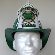 Irish Helmet with Crossed Axes