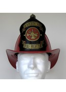 "Traditional ""American Firefighter"" Helmet - Red"