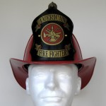 "Traditional ""American Firefighter"" Helmet - BLEMISHED"
