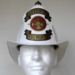 """White """"American Firefighter"""" Helmet"""